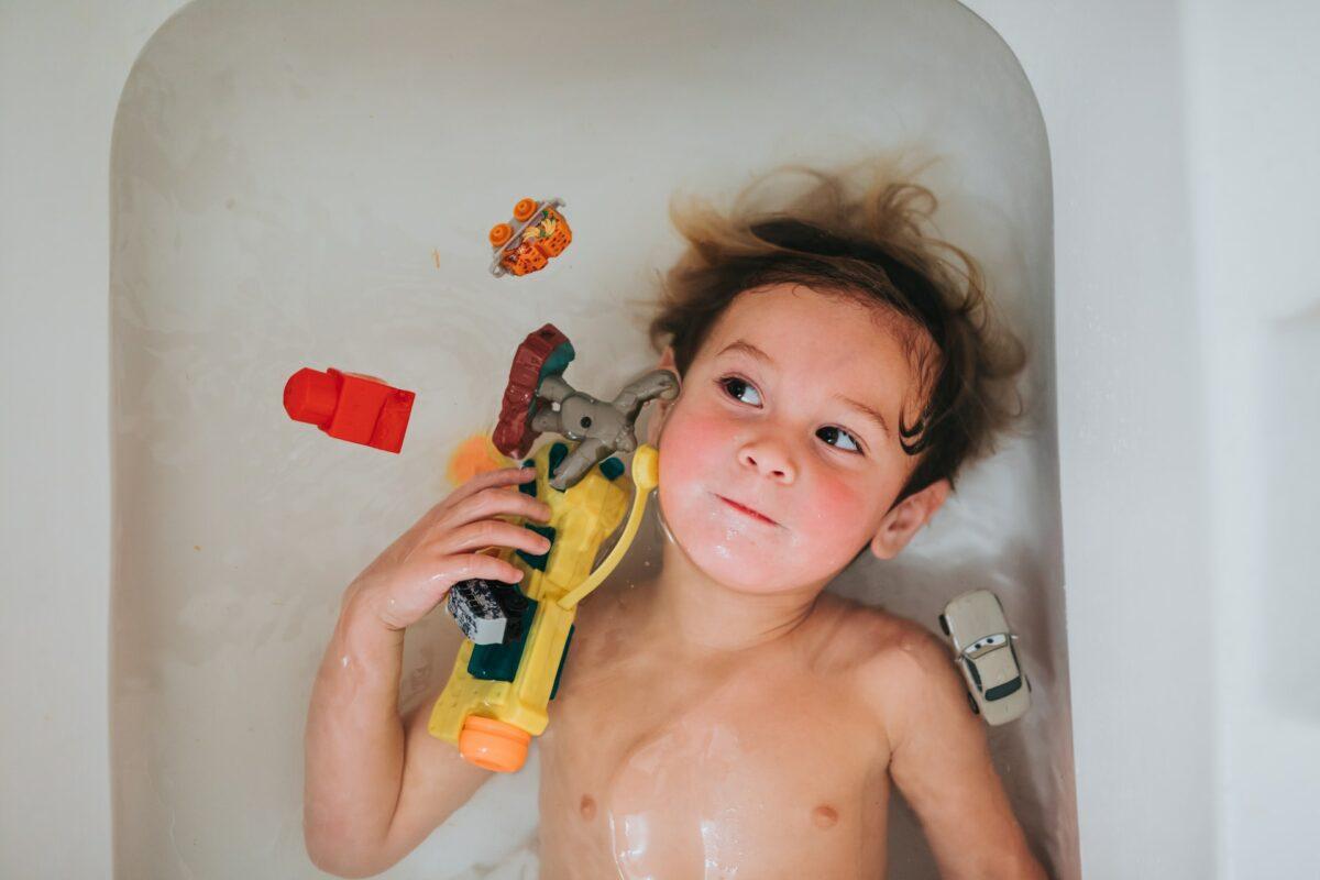 Top tips to design the best kids' bathroom!